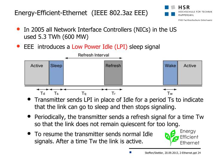 Energy-Efficient-Ethernet  (IEEE 802.3az EEE)