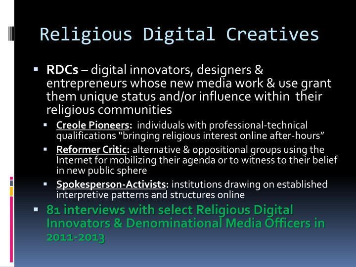 Religious Digital Creatives