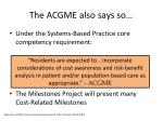 the acgme also says so