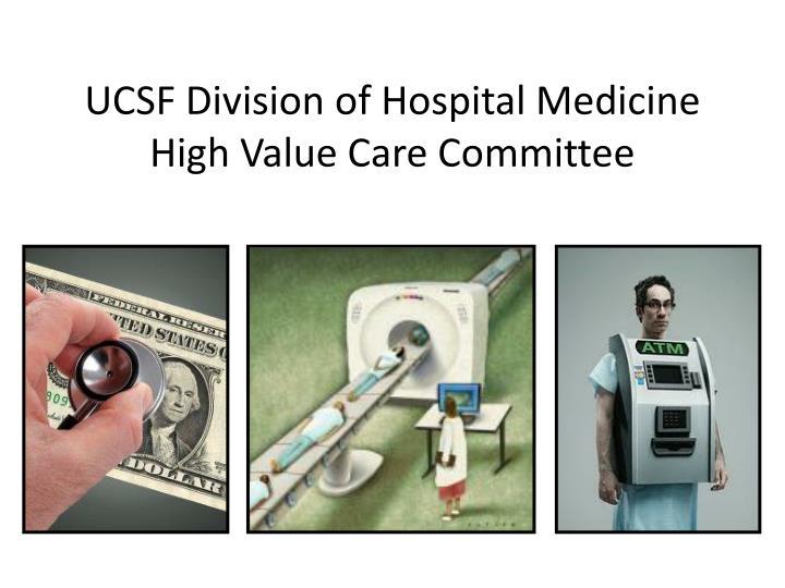 UCSF Division of Hospital Medicine