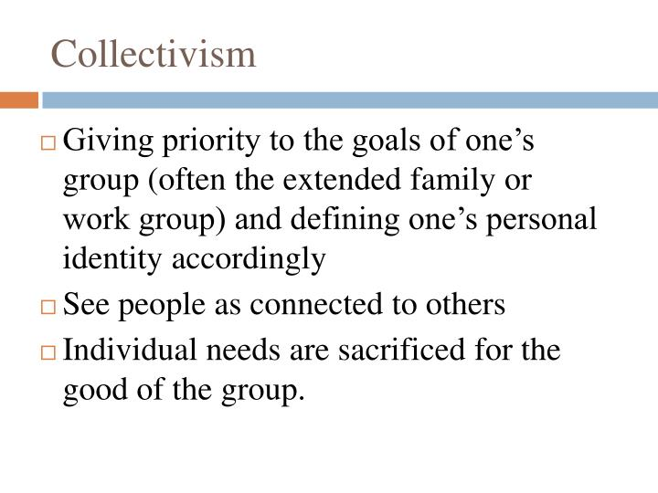 Collectivism