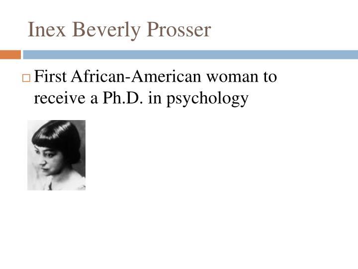Inex Beverly Prosser