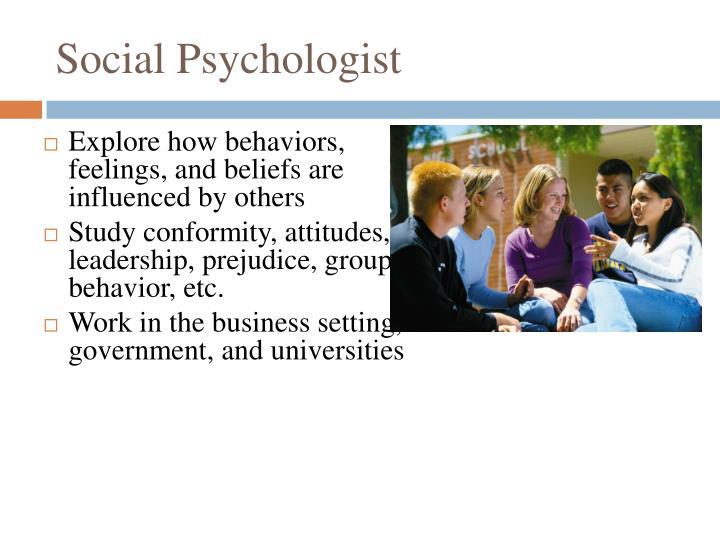 Social Psychologist