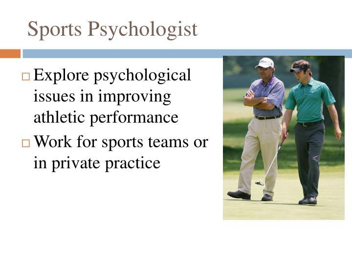 Sports Psychologist
