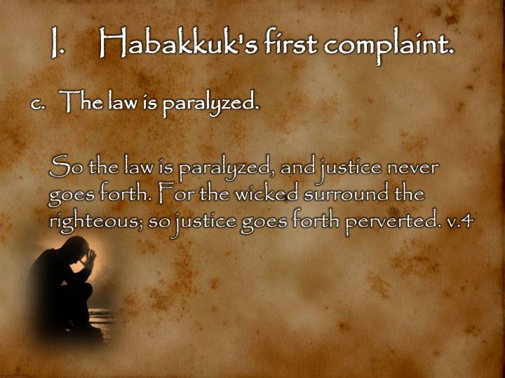 Habakkuk's