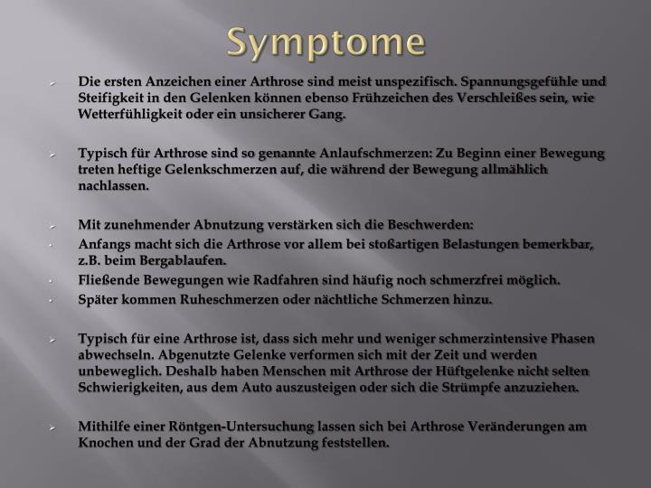 Symptome