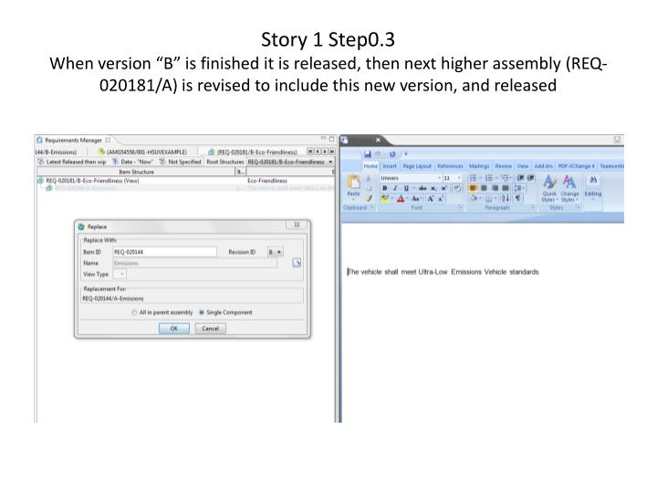 Story 1 Step0.3