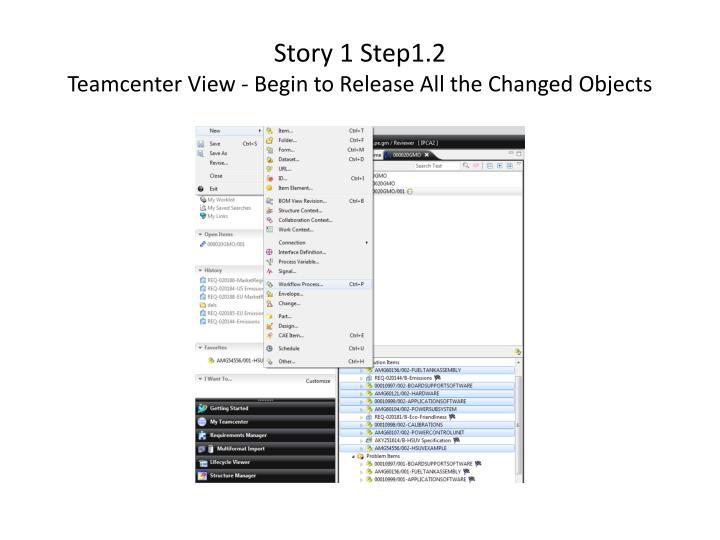 Story 1 Step1.2