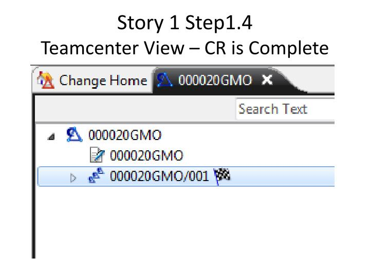 Story 1 Step1.4
