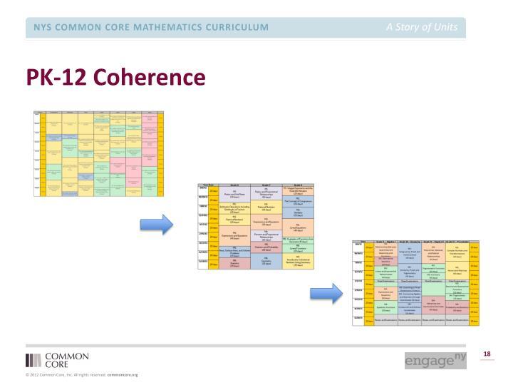 PK-12 Coherence