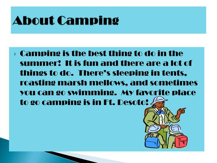 About Camping