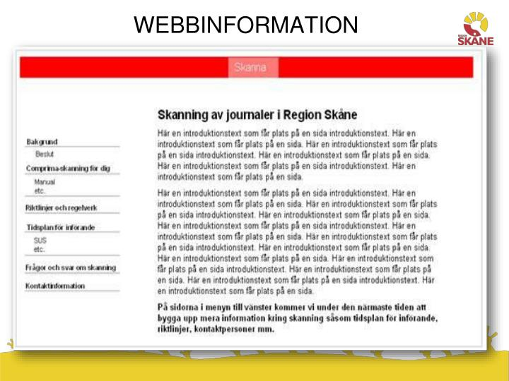 WEBBINFORMATION