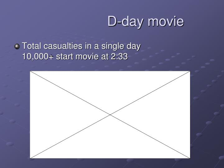 D-day movie