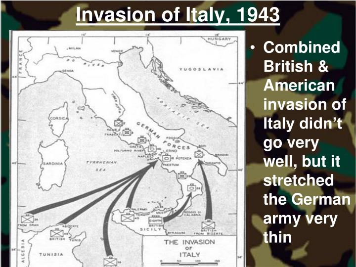 Invasion of Italy, 1943