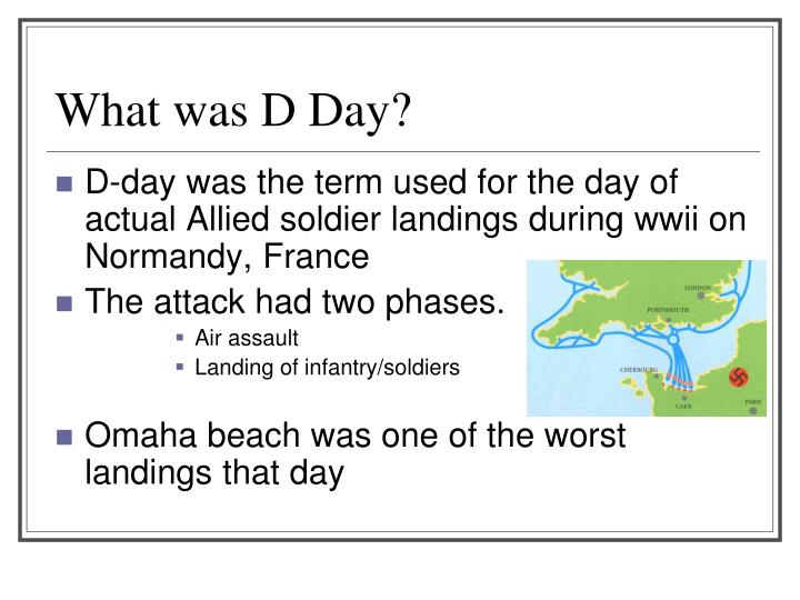 What was D Day?