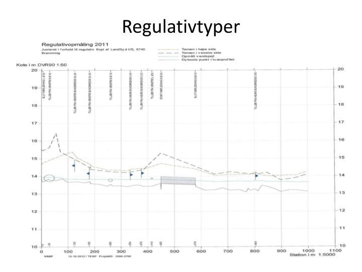 Regulativtyper