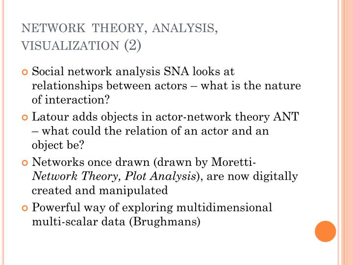 Network theory analysis visualization 2