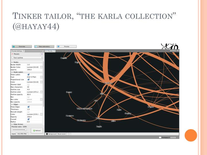 "Tinker tailor, ""the"