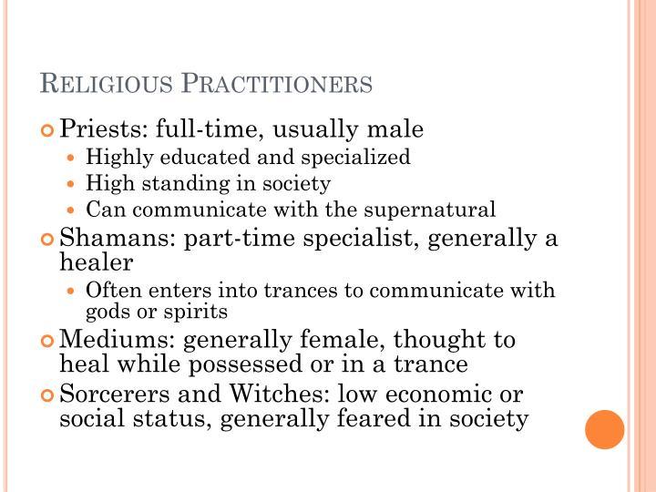 Religious Practitioners