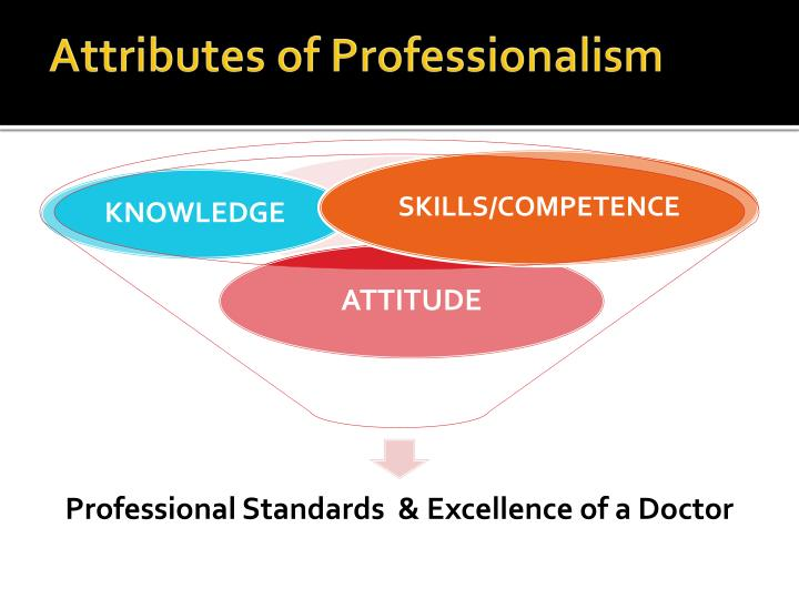 Attributes of Professionalism