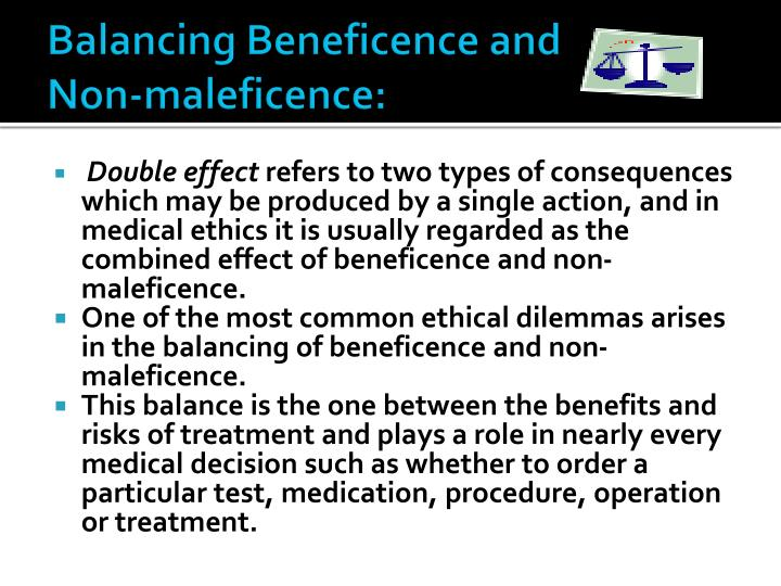 Balancing Beneficence and