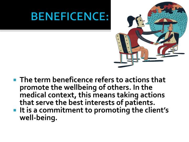 BENEFICENCE: