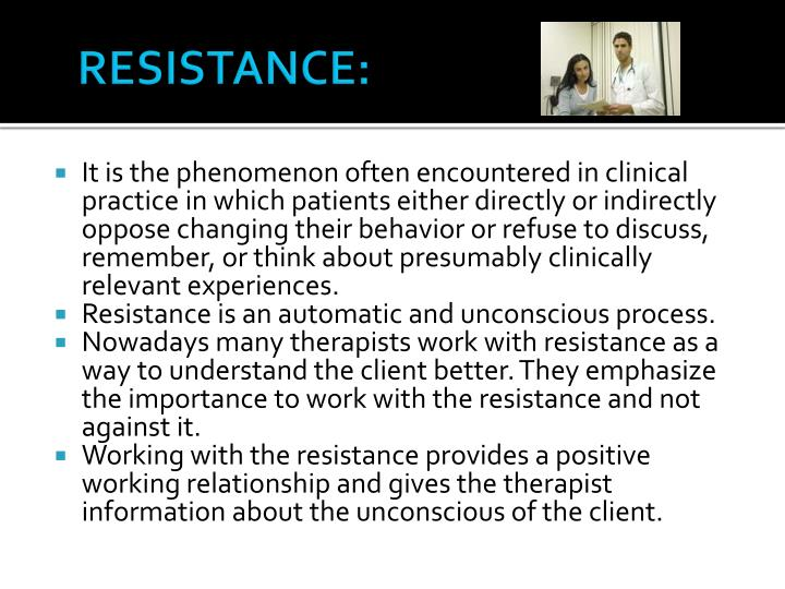 RESISTANCE: