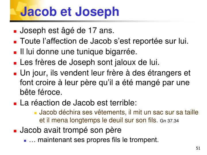 Jacob et Joseph