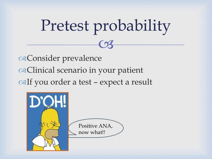 Pretest probability
