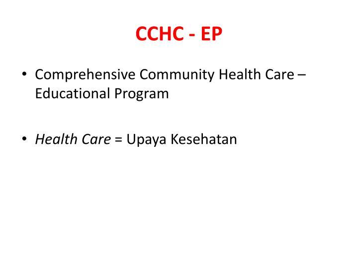 CCHC - EP