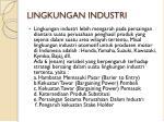 lingkungan industri