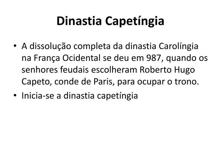 Dinastia Capetíngia