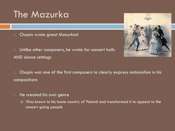 The Mazurka