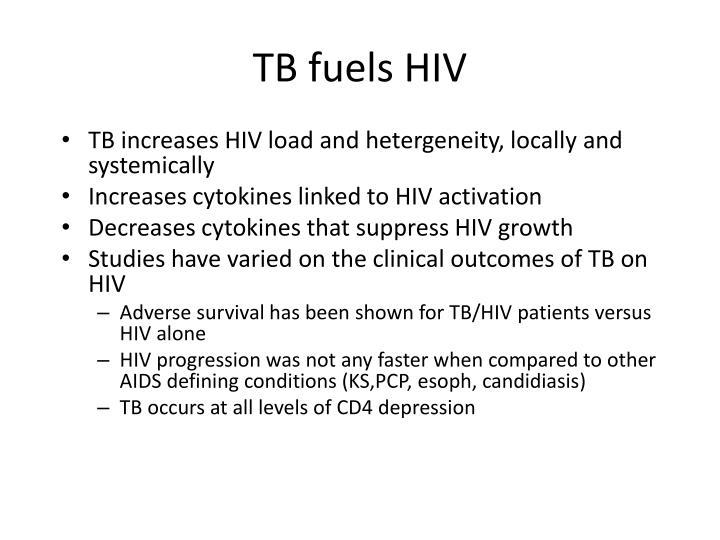 TB fuels HIV