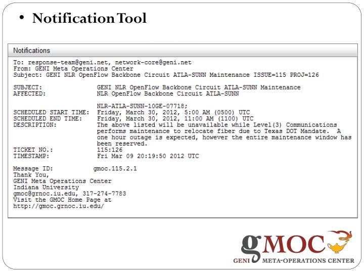 Notification Tool