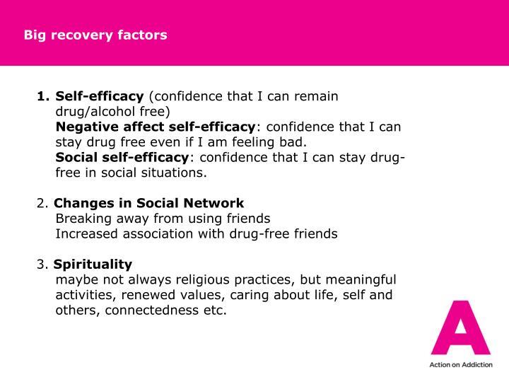 Big recovery factors