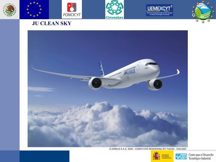 JU CLEAN SKY