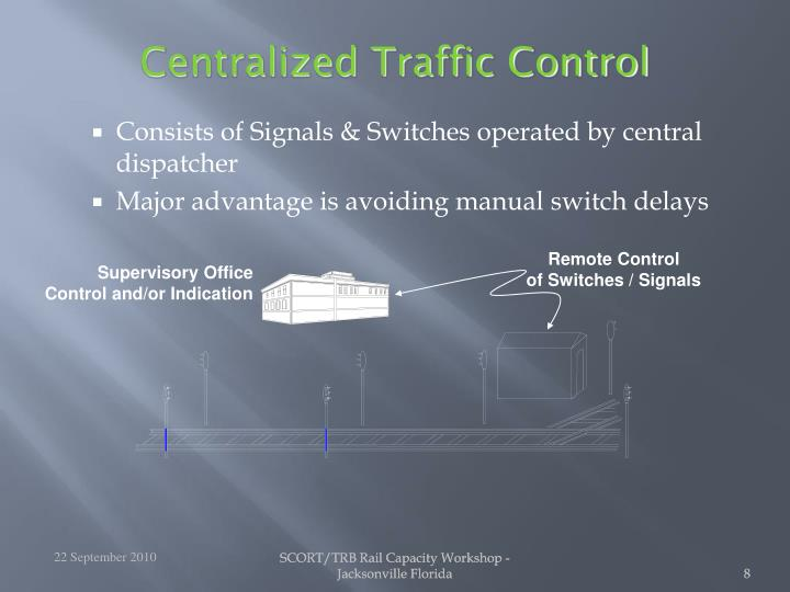 Centralized Traffic Control