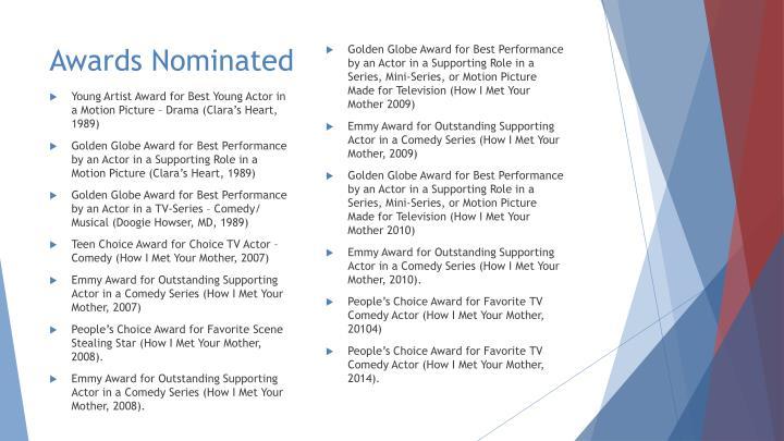 Awards Nominated