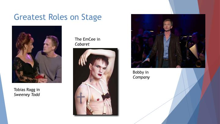 Greatest Roles on Stage