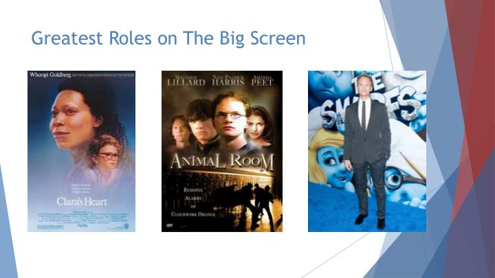 Greatest Roles on The Big Screen