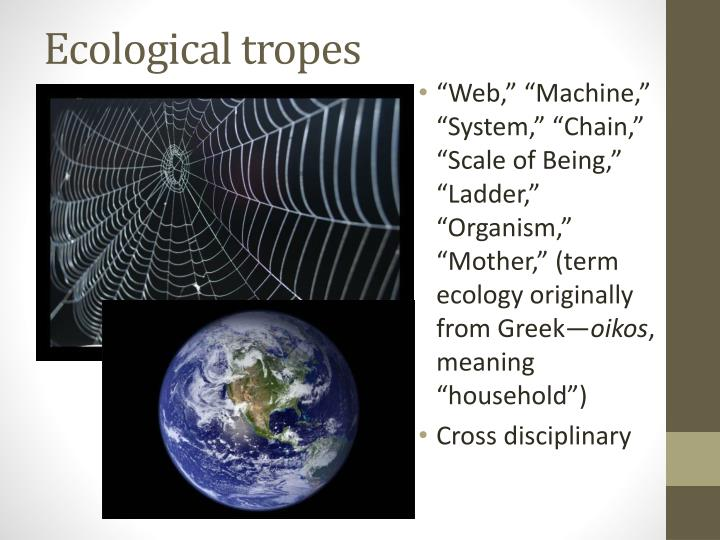 Ecological tropes