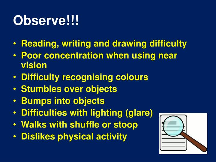 Observe!!!