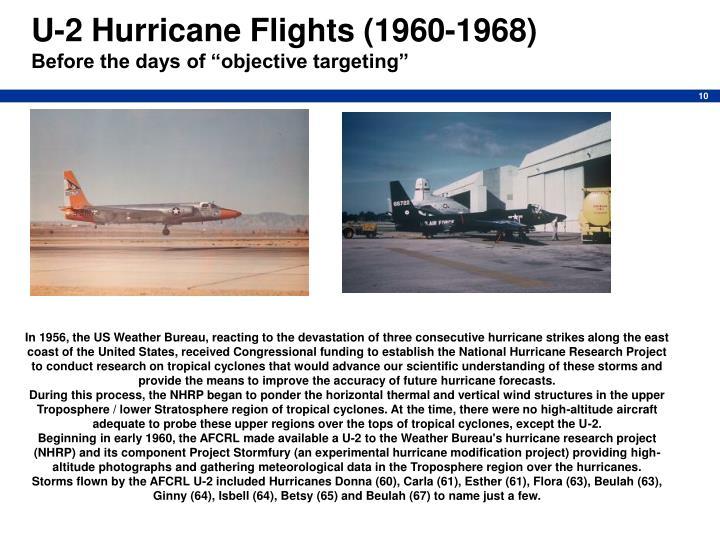 U-2 Hurricane Flights (1960-1968)