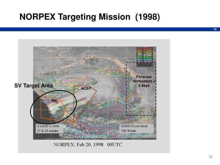 NORPEX Targeting Mission  (1998)