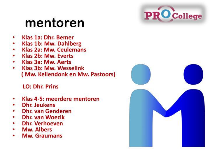 mentoren