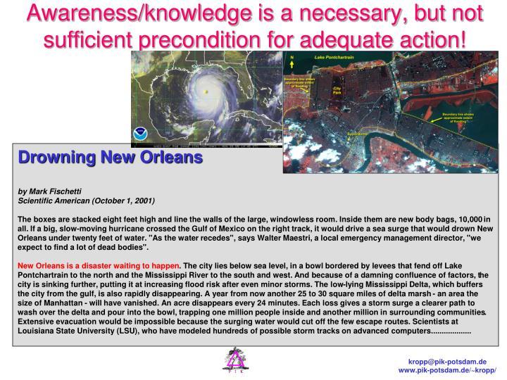 Awareness/knowledge
