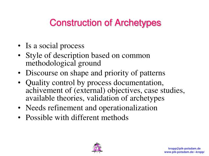 Construction of Archetypes