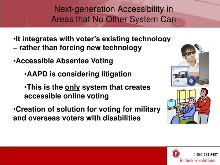 Next-generation Accessibility in