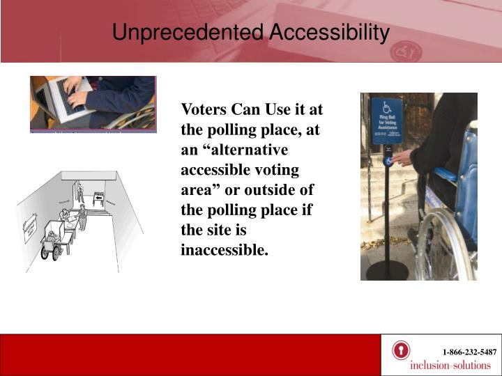 Unprecedented Accessibility